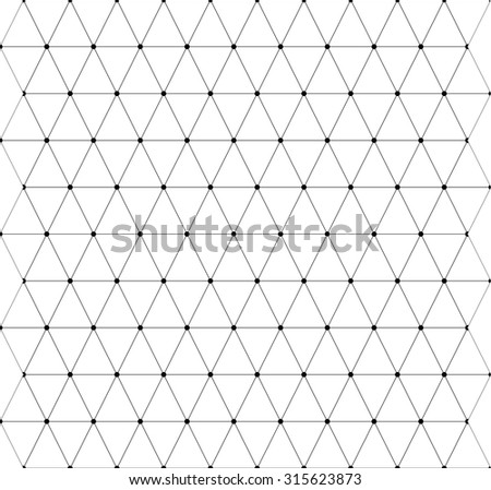 Seamless geometric background on the white background - stock vector