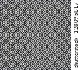 Seamless geometric checked pattern. Vector art. - stock vector