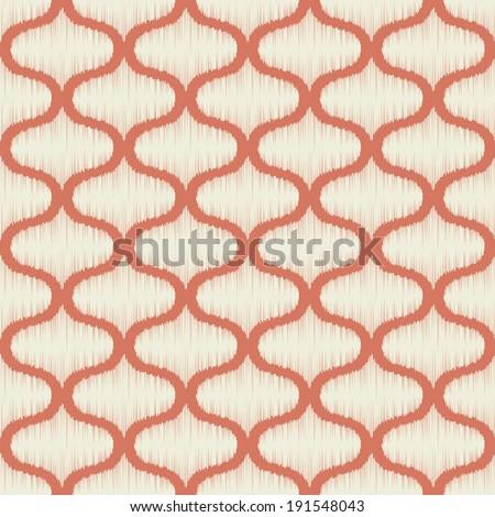 seamless geometric lattice pattern - stock vector