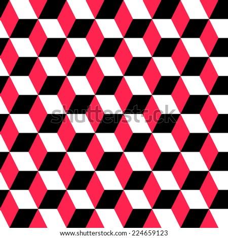Seamless Geometric Ornament - stock vector