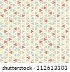 Seamless geometric pattern #2 - stock vector