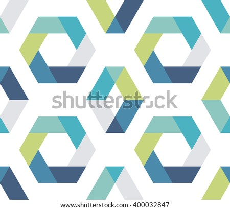 Seamless geometric pattern. Abstract geometrical background. Vector illustration. - stock vector