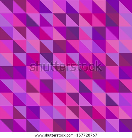 seamless geometric pattern.background patterned with triangles.vector - stock vector