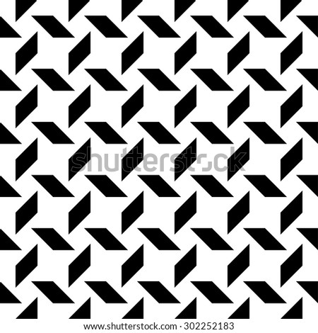 Seamless geometric pattern vector, abstract pattern vector - stock vector