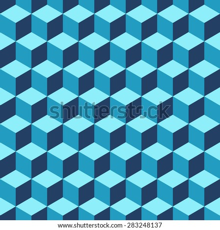 seamless geometric pattern.Vector background - stock vector