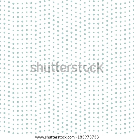 Seamless geometric pattern. Vertical dotted stripes. Vector repeating texture - stock vector