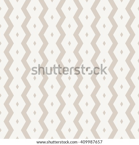 Seamless geometric striped pattern, monochrome vector background  - stock vector