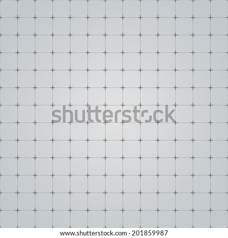 Seamless grid technology background. Vector illustration. - stock vector