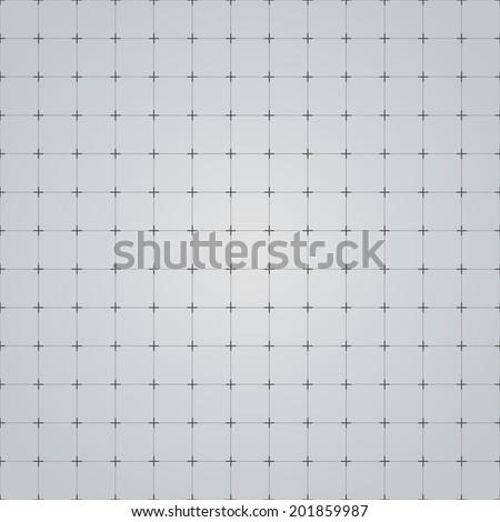 Seamless grid technology background. Vector illustration. - stock vector