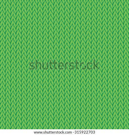 Seamless knitted pattern.Woolen cloth - stock vector