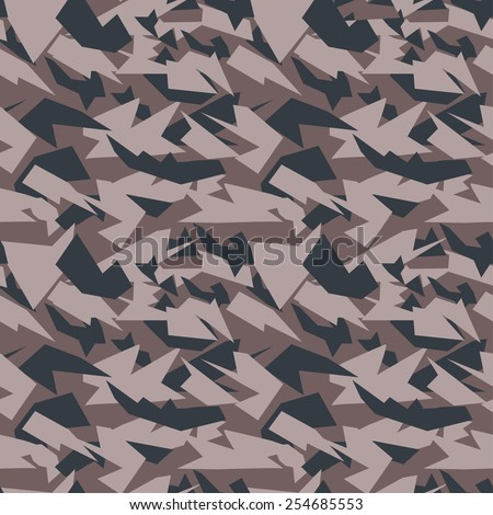 Seamless military camouflage texture. Military background. military texture for textile.  - stock vector