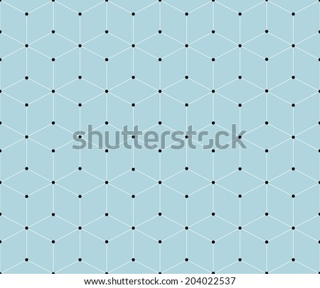 seamless modern geometric pattern background - stock vector