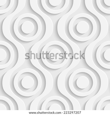 Seamless Modern Pattern - stock vector