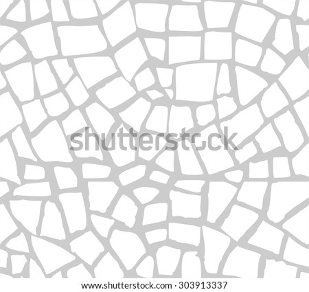 Seamless mosaic pattern - stock vector