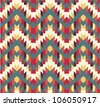 Seamless navajo texture - stock vector