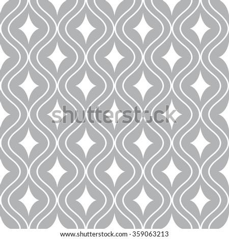 seamless ornament pattern vector illustration - stock vector