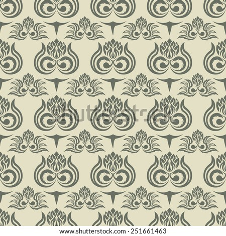 Seamless pattern - stock vector