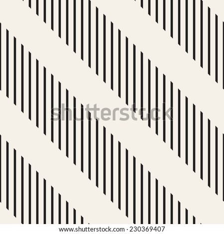 Seamless pattern. Abstract striped texture with diagonal direction - stock vector