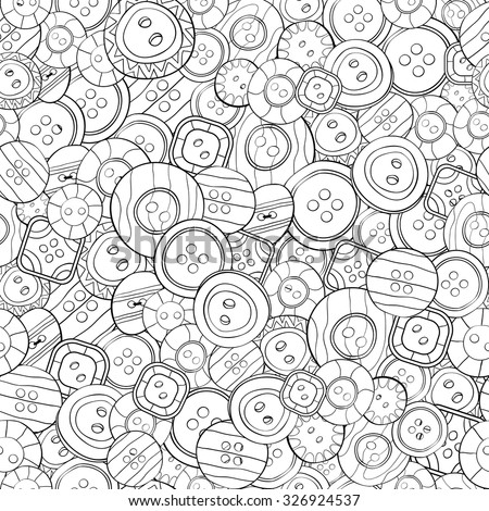 Button Coloring Pages To Print Pictures To Pin On
