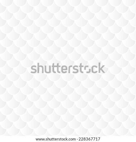 Seamless pattern background backdrop wallpaper fish scale motif - stock vector