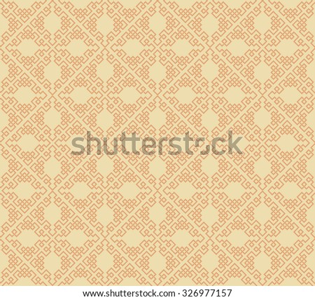 Seamless pattern. Background wallpaper. Pattern. Asian style texture: Chinese, Japanese, Indian. Geometric pattern. Islamic wallpaper. Islamic background. Islamic pattern. Vector image - stock vector