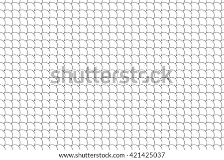 seamless pattern diagonal fish scales background .Vector illustration. EPS 10. - stock vector