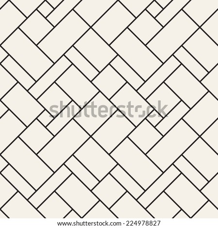 Seamless pattern. Diagonal grid texture. Linear grid with right angles - stock vector