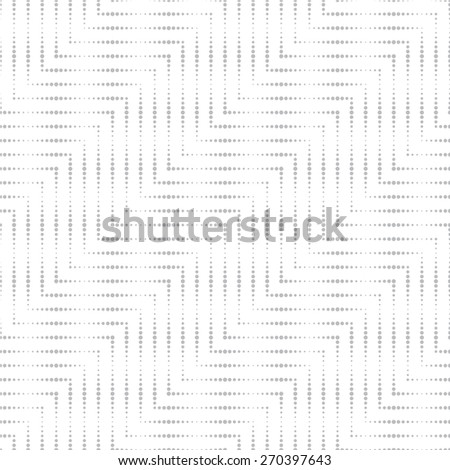 Seamless pattern. Elegant diagonal texture in the form of waves. Repeating geometrical shapes. Curve dotted lines. Monochrome. Backdrop. Web. Vector illustration for your design - stock vector