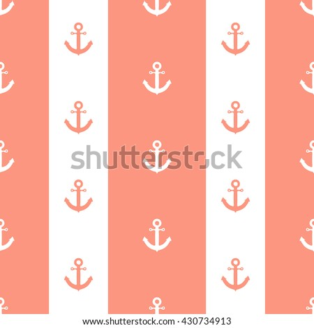 Seamless pattern for wallpaper.  - stock vector
