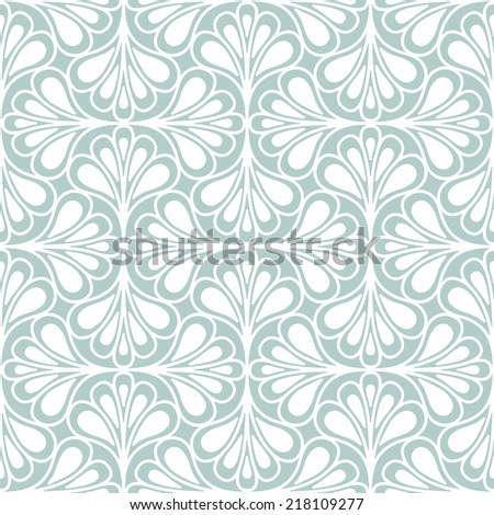 Seamless pattern. Modern ornament. Geometric stylish background. Vector repeating texture - stock vector