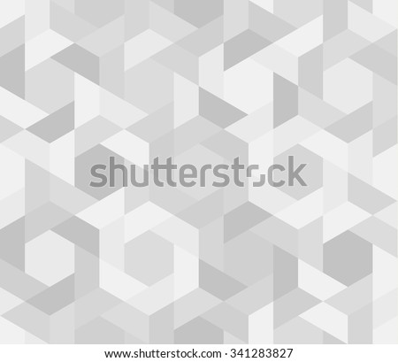 Seamless pattern of geometric shapes. Geometric background. - stock vector