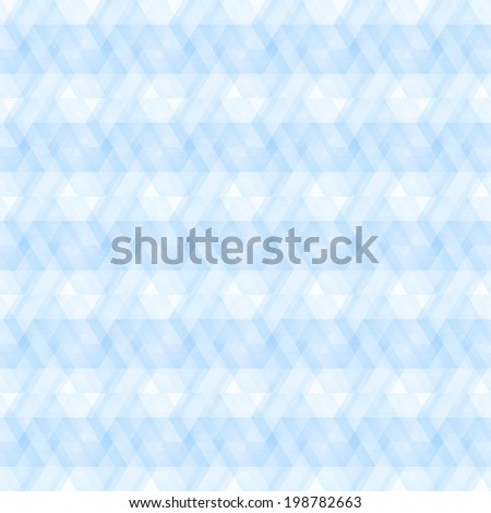 seamless pattern of geometric shapes, vector abstract background - stock vector