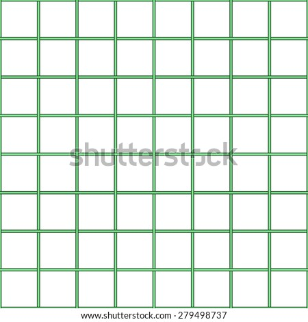 Seamless pattern of the checked net - stock vector