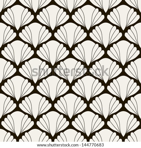 Seamless pattern. Persian antique ornament. Geometric stylish background. Vector repeating texture - stock vector