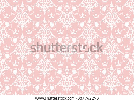 seamless pattern,pink pattern,flower pattern,floral pattern,retro pattern, pattern wallpaper,background pattern,tile patterns,modern pattern,pattern design,vintage pattern,damask pattern,pattern paper - stock vector