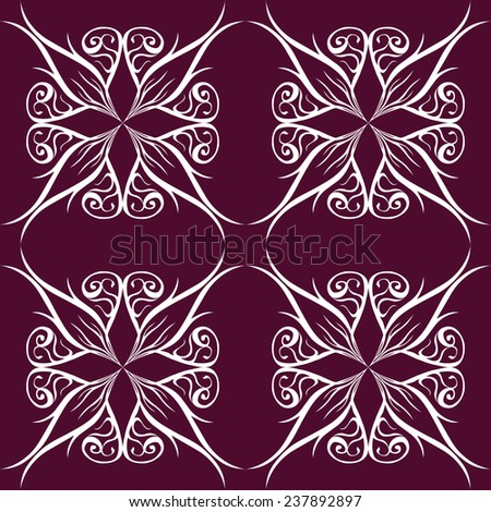Seamless pattern, ready to use - just drug and drop to your swatch panel. - stock vector
