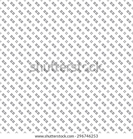 Seamless pattern. Simple classical diagonal texture with the repeating geometrical shapes, rhombuses, diamonds, stripes. Monochrome. Backdrop. Web. Vector element of graphic design - stock vector