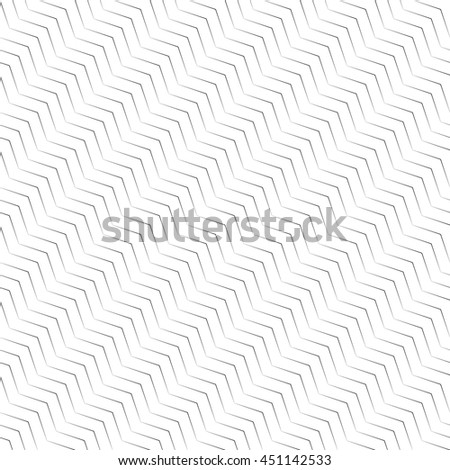 Seamless pattern. Simple linear texture in the form of a zigzag, waves. Repeating geometric shapes, thin lines, zigzags. Monochrome. Backdrop. Web. Vector element of graphic design - stock vector