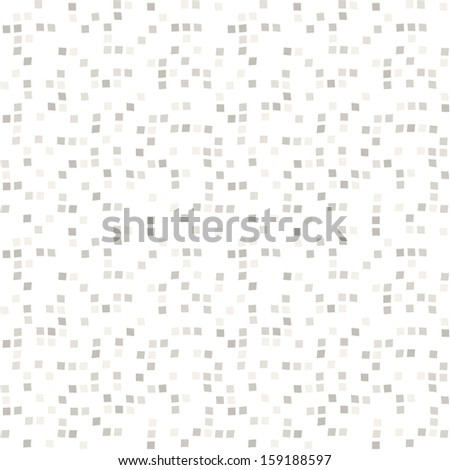 Seamless pattern. Small square mosaic. Texture of chaotic square mosaic - stock vector