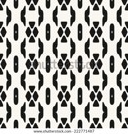 Seamless pattern, stylish background, modern texture lines. - stock vector