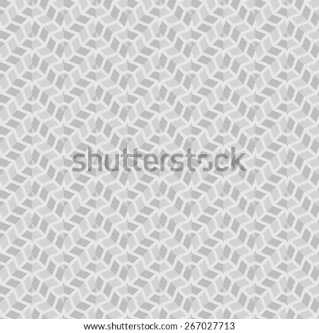 Seamless pattern. Stylish geometric texture with repeated complex polygonal shapes. Circle. Star. Triangle. Polygon. Vector background. Monochrome. Backdrop. Web. Vector illustration for your design - stock vector