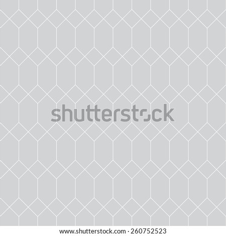 Seamless pattern. Stylish geometric texture with repeating diamonds of various sizes. Monochrome. Backdrop. Web. Vector illustration - stock vector