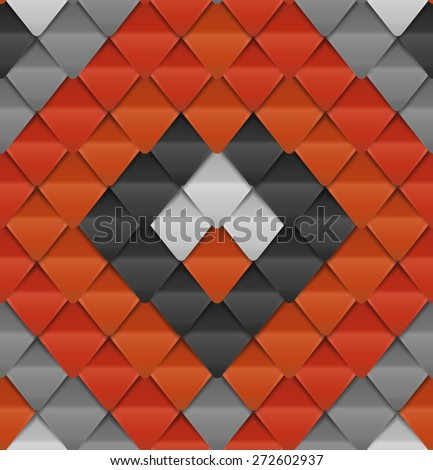 Seamless pattern that looks like snake skin - stock vector