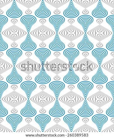 Seamless pattern (vector EPS-10). Repeating abstract background. - stock vector
