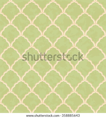 Seamless pattern. Vector vintage background. - stock vector
