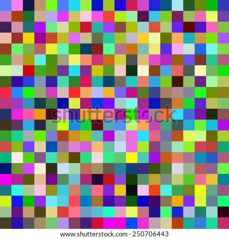 seamless pattern with colorful squares. Vector - stock vector