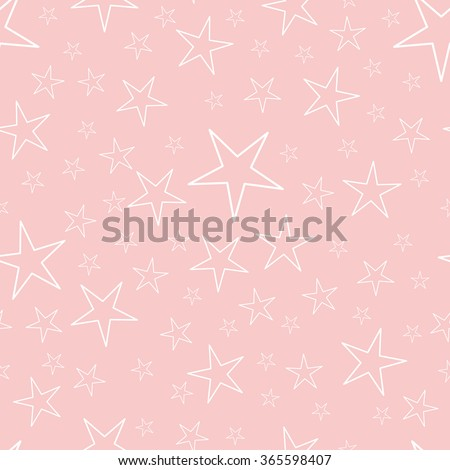Seamless pattern with stars, star pattern, star decorations. EPS10 vector illustration. - stock vector