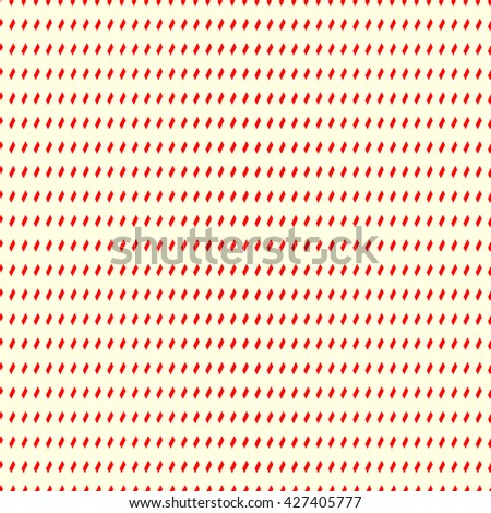 Seamless pattern with symmetric geometric ornament. Repeating breaking lines abstract background. Abstract repeated bricks wallpaper. Vector illustration - stock vector
