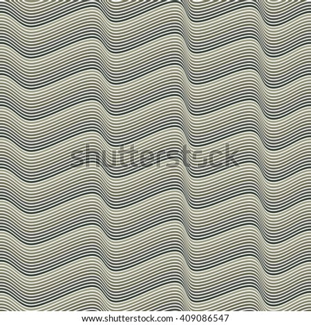 Seamless Pattern with waves / Seamless pattern with zigzags / Seamless pattern with geometric for design fabric,backgrounds, package, wrapping paper, covers, fashion  - stock vector
