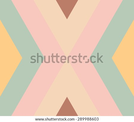 Seamless pattern with zigzag, triangle, rhombus, line. Infinity background of geometric shapes. Pattern with colorful mosaic pattern. Colorful geometric background. Vector illustration.   - stock vector